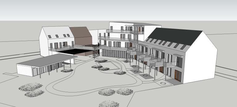 170509_BD-1428_cohousing kortrijk_3D-maqette6
